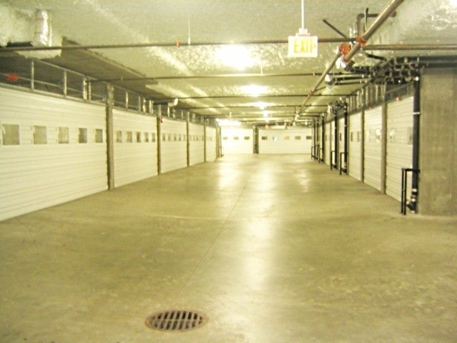 Secure Individual Underground Garages for all Units